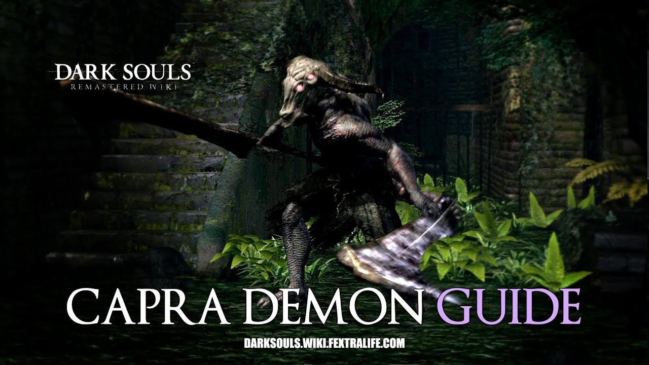 Capra Demon | Dark Souls Wiki