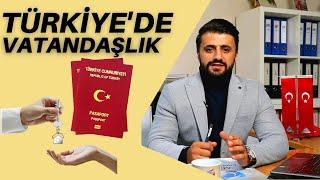 Yabancılar Türkiyede nasıl vatandaşlık kazanabilir??