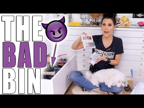 THE WORST MAKEUP I OWN ... 'THE BAD BIN'