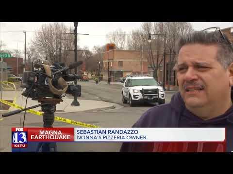 Utah responds to 5.7 earthquake: Magna damage