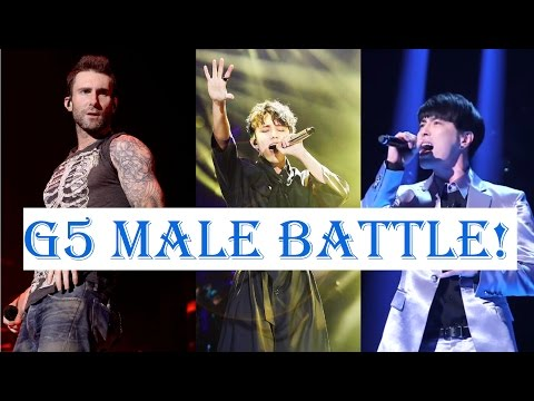 G5 High Notes - Male Singers In the World