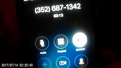 Calling random phone numbers *lady called the cops*
