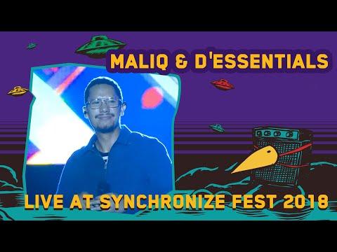 Maliq & D'Essentials Live At Synchronizefest 5 Oktober 2018