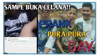 PRANK PURA-PURA GAY DI OME TV - 100% REAL HAMPIR SEMUA LAKI-LAKI OME TV ITU GAY!!