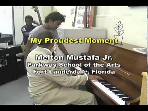 Grammy Music Educator Quarter Finalist -Melton Mustafa -  My Proudest Moment - Parkway SOTA