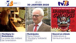 7/8 Le Journal. Edition du jeudi 30 janvier 2020