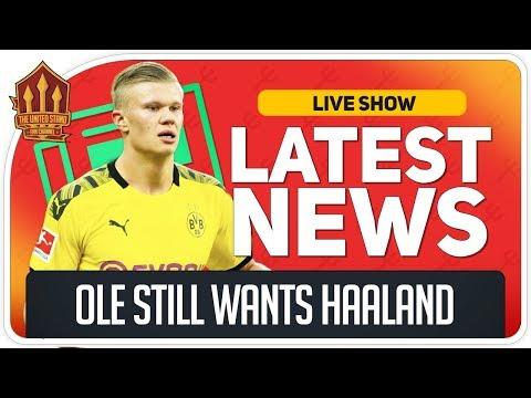 Erling Haaland Transfer Back On? Man Utd News Now
