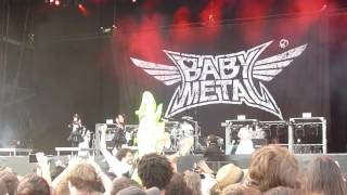 babymetal megitsune 11 06 2016 download festival paris 2 2