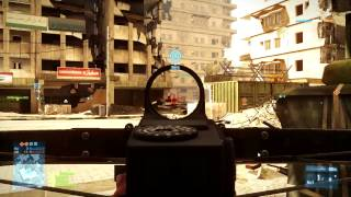 Battlefield 3: Aftermath Xbow PC Gameplay