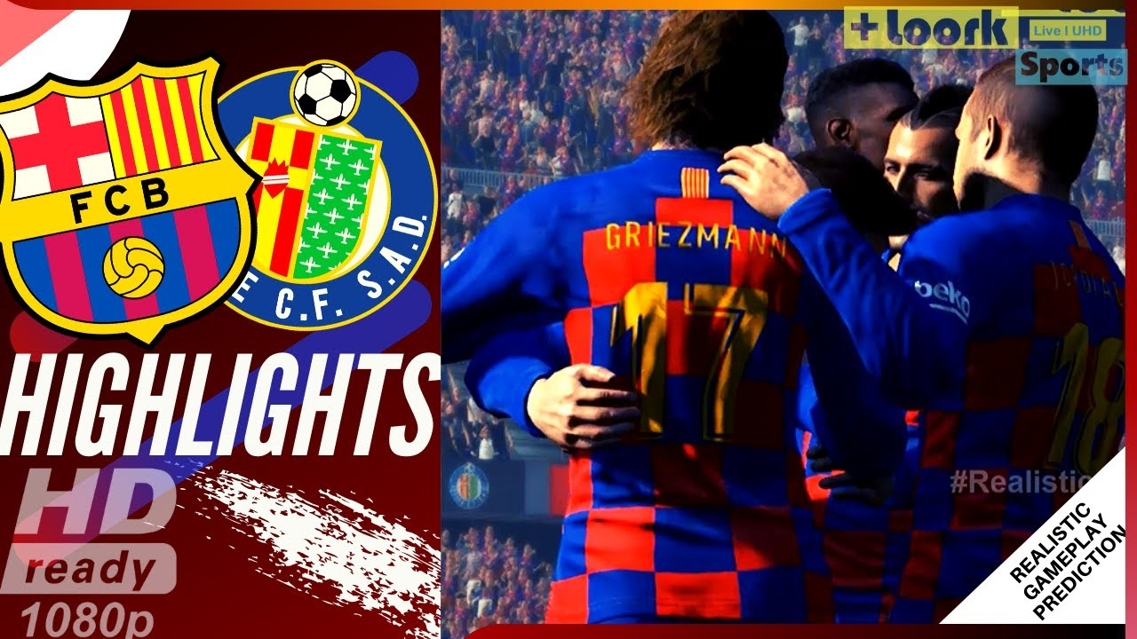 Getafe VS Barcelona  |Getafe- Barcelona
