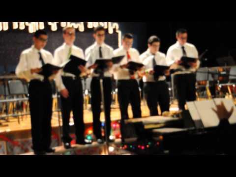 Pompton Lakes High School Men's Ensemble- Ding Dong Mmkay! (South Park)
