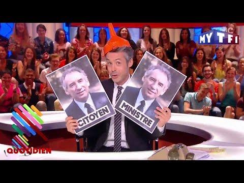 Ils sont combien dans la tête de François Bayrou ? - Quotidien du 13 Juin