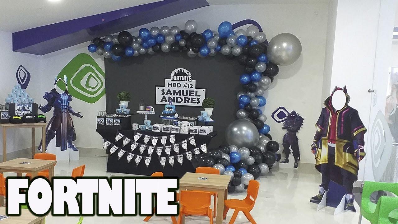 Decoración Fortnite