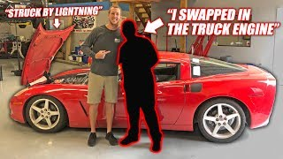 Download We Found the Auction Corvette's Previous Owner... The Story is INSANE! Mp3 and Videos