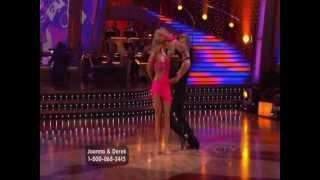 Derek Hough & Joanna Krupa - Lambada, Salsa