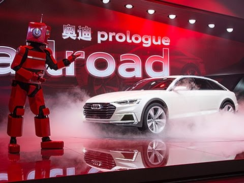 Audi Press Conference from the Auto Shanghai 2015