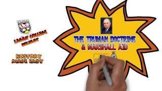 Truman Doctrine and Marshall Plan