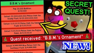 How To Get *SECRET* 12th Ornament & FREE Festive Sprouts Present 11 | Roblox Bee Swarm Simulator