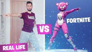 Fortnite emote in real life - DISCO FEBBRE
