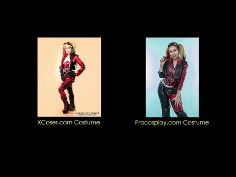 Cosplay Review: Injustice 2  Harley Quinn XCoser vs. Procosplay