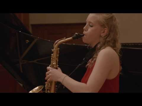 Sonata for Alto Saxophone and Piano by Phil Woods
