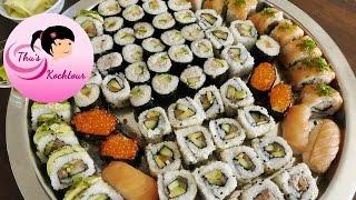 [ENG SUB] How to make Sushi/ Schritt für Schritt  Sushi selber machen