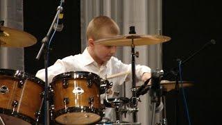 Festival De Ritmo - Dave Weckl + Drum solo - drummer Daniel Varfolomeyev 11 years