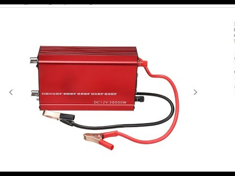 Electro Fishing 12v To 230v/adjustable Frequency Inverter Review
