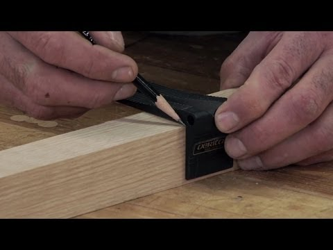 Woodworking Tools We Love: Saddle Square