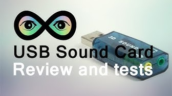 3D Sound Card USB Review and Tests - Infinite Loop