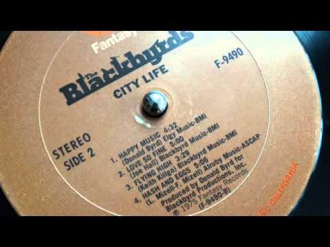 The Blackbyrds - Flying High (lp