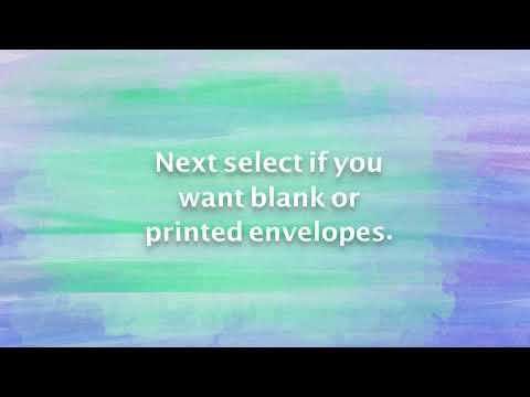 How to order envelope printing online
