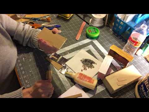 Creative Reacycle- Miniature Chest of drawers Part1