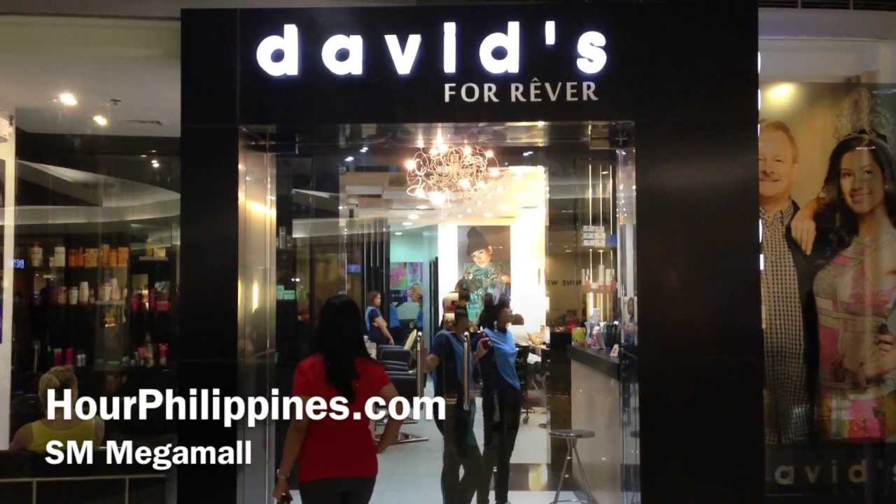 david 39 s salon sm megamall by youtube. Black Bedroom Furniture Sets. Home Design Ideas