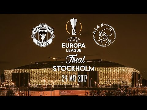 Manchester United vs Ajax - Europa League Final Promo - 24.5.17 Stockholm