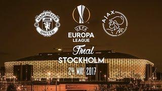 Manchester United vs Ajax - Europa League Final Promo - 24.5.17 Stockholm
