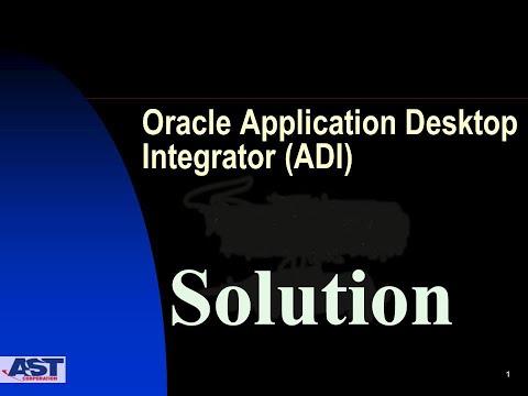 Desktop Integration in Oracle Cloud