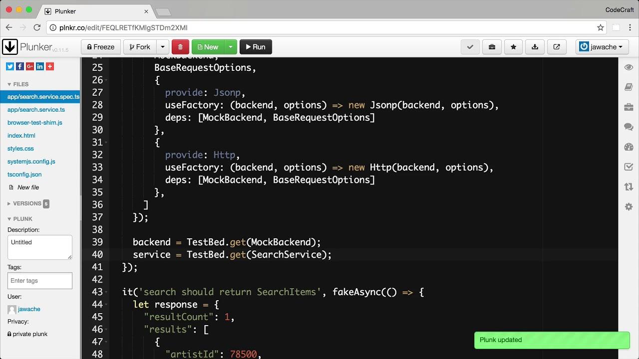 Testing Http • Angular