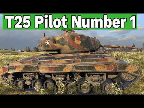 Ocena misji i AS PANCERNY - T25 Pilot Number 1 - World of Tanks