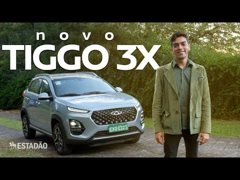 Tiggo 3X estreia motor 1.0 turbo e mostra o novo design dos SUVs da Caoa Chery