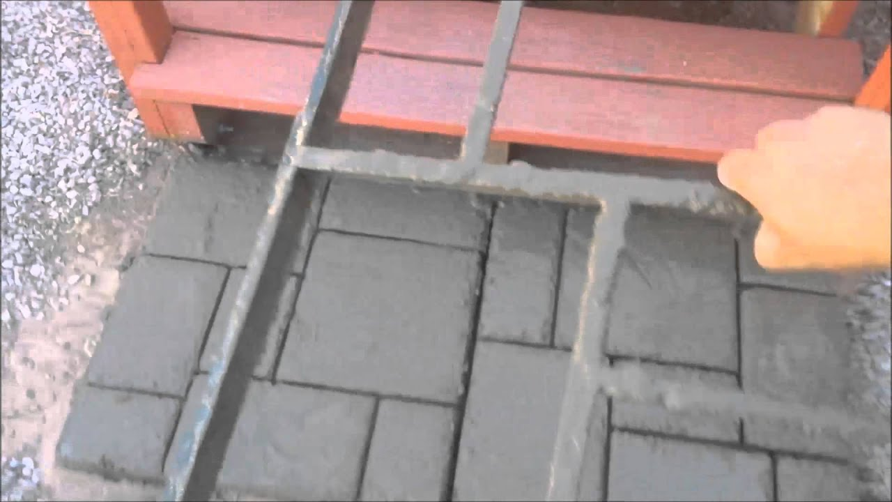 how to make brick molds