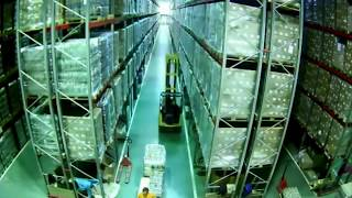 Forklift Causes Whole Warehouse To Collapse