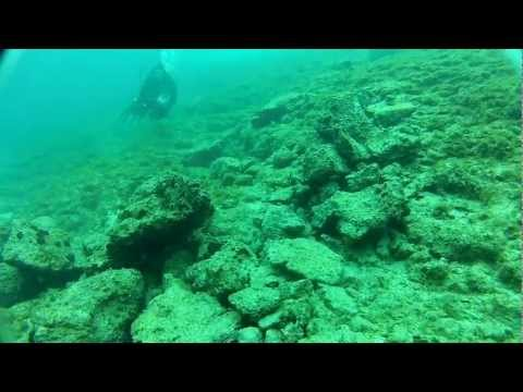 Scuba Dive @ Greece 12-2-2012 [raw footage]