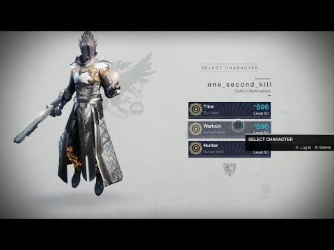 My Destiny2 Warlock Build