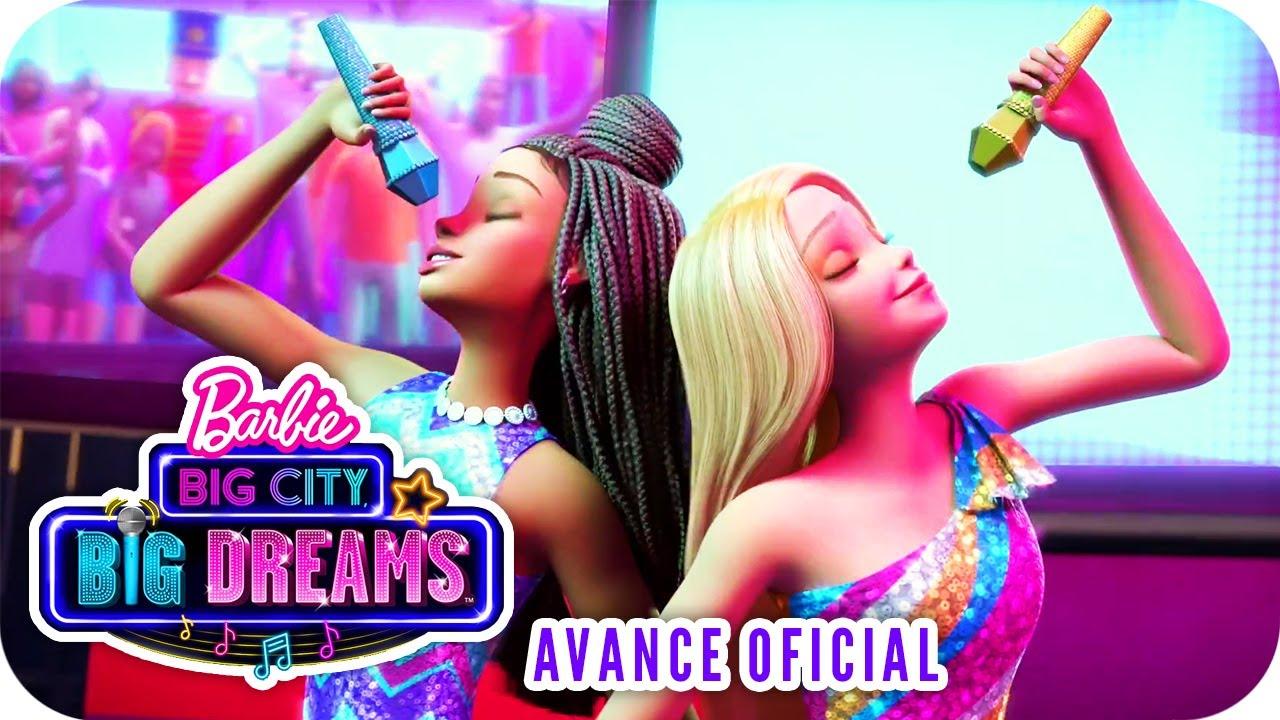 Barbie Big City Big Dreams Avance Oficial Subtitulado Al Espanol Barbie Youtube