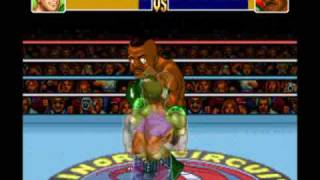 Let's Play Super Punch Out 01 - Gabby Jay to Bald Bull