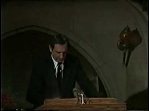 Doug Coe's 1989 speech to the Navigators in Glen Eyrie, CO.