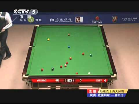 Mark Selby Cheats Mark Williams Out Of 2011 Shanghai Masters Title