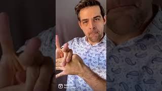 The ole thumb trick