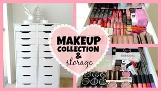 My Makeup Collection & Storage! ♡ 2014 Thumbnail